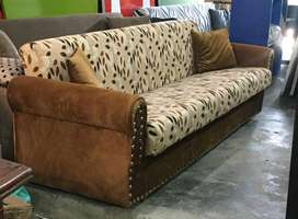 Available reasonable prices sofa cum bed brand new