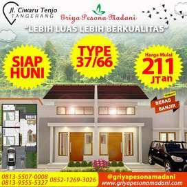 Rumah Murah di Tangerang : SIAP HUNI, 1 JUTA LANGSUNG PILIH UNIT