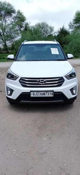 Hyundai Creta 1.6 SX (O), 2015, Petrol