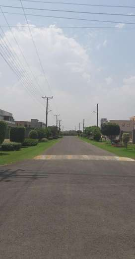 2 Marla Corner Commercial Plot For Sale In Canal Gardens Lahore