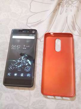 Infinix S2 Pro with original charger with box and cover