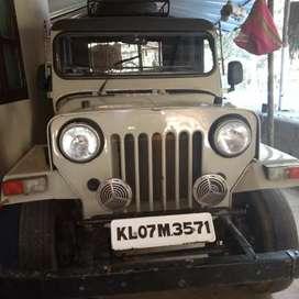 Mahendra jeep.