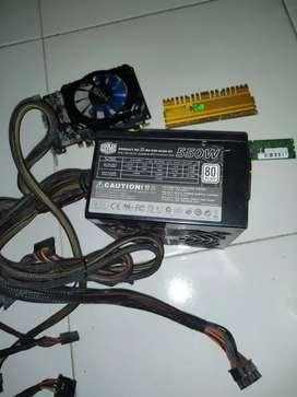 Psu/powee supply COOLER MASTER Gaming xteream 550