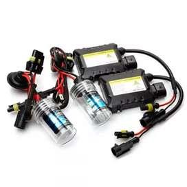 Lampu Mobil Headlight HID Xenon H7 6000K 55W 2 PCS with Ballast12VRSVR