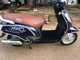 Suzuki Access 125cc blue
