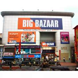 Urgent requirement shopping mall for male female candidate required