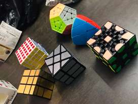 All types of Cubes