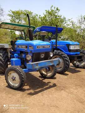 Indofarm 2040 tractor 42 hp with brand new tyres best conditionhome us