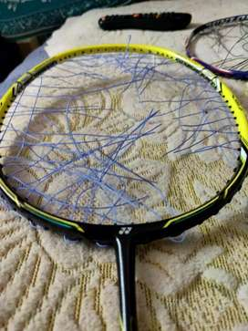 Yonex Nanoray Speed Badminton racket without getting in good condition