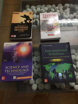 UPSC - international relations, ethics, essay, science and technology