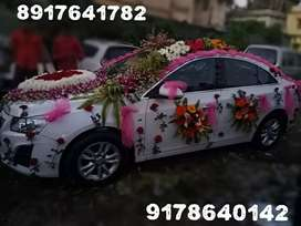 Cruze top model with Sunroof & Leather seats is available for Marriage