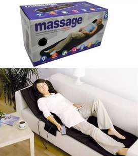 Massage body massage bed matress of 9 motor and 9 shooting