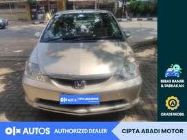 [OLX Autos] Honda City 2004 Idsi 1.5 Bensin A/T Silver #Cipta Abadi