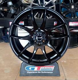 Velg work kiwami ring 17x7.5 h8x100/114.3 et42 Avanza Sigra Yaris city