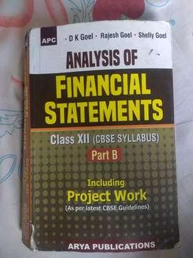 Financial statements Class XII part- B
