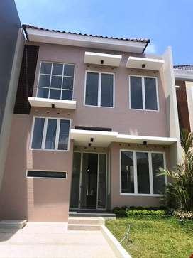 Disewakan Rumah Baru Minimalis Modern Ijen Nirwana Malang