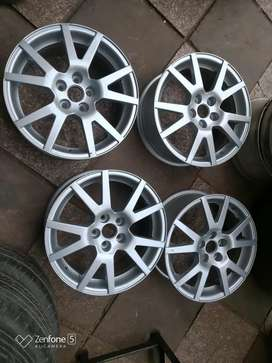 "Four Original Skoda Octavia VRS 16"" Alloy wheel"