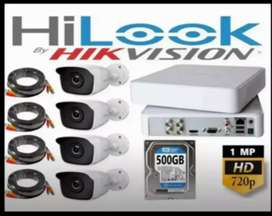 Paket kamera cctv layar jernih kualitas hd