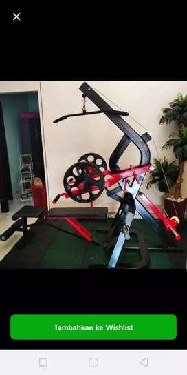 Alat Fitnes Powertec Multifungsi Plus LattPullDown