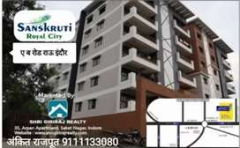 RAU A.B.ROAD,CITY BEST LOCTION NEAR IPS ACCEDMY READY POSSESION FLATS