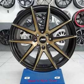 Jual Velg AMW MARS R17X7,5 pcd 8X100/114,3 on Avanza Fiesta Aveo brio