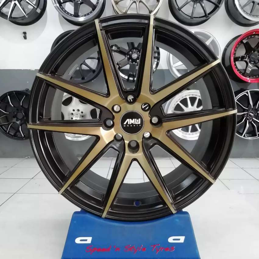Jual Velg AMW MARS R17X7,5 pcd 8X100/114,3 on Avanza Fiesta Aveo brio 0