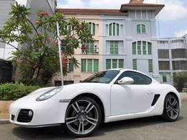 Porsche Cayman 2.9 PDK 2011 White On Red Km10rb Full Opt Crono Exhaust