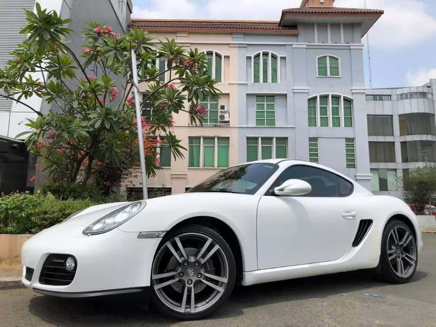 Porsche Cayman 2.9 PDK 2011 White On Red Km10rb Full Opt Crono Exhaust 0