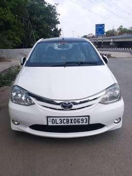 Toyota Etios 2010-2012 V, 2012, CNG & Hybrids