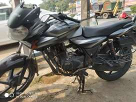 First owner,colour black, discover 135, bike number: HR02V 3220