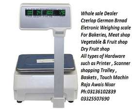Label Printing & Receipt Printing Weighing scale