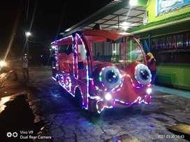 kereta mini wisata karakter dengan harga promo awal bulan april
