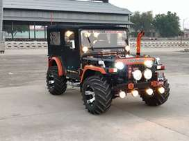 Jeep's all type ready on order basis
