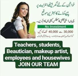 Home baesd jobs now available for girls