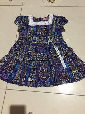 Dress batik babygirl