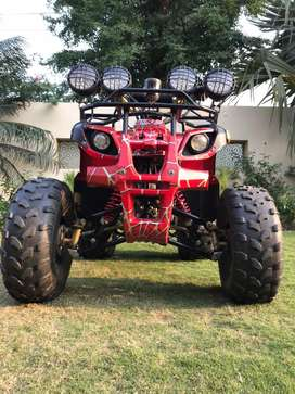 Fully offroad 125cc Quadbike (ATV)