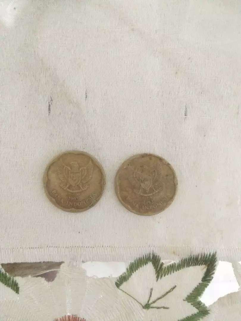 Uang koin 500 rupiah gambar bunga melati jual borongan 0