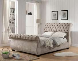 King size duble bed for sale ful fabric