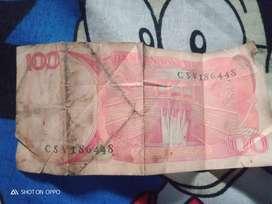 Jual uang kuno tahun 1984