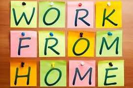 part time work & earn money from home