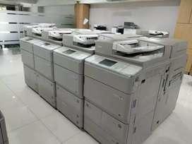 Mesin fotocopi print siap kerja