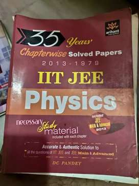 ARIHANT DC PANDEY 35 YEARS IIT JEE PHYSICS