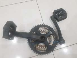 Crank MTB Second