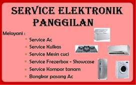 Service Kulkas, Ac, Mesin cuci, Frezerbox, Kompor tanam - Pasang Ac