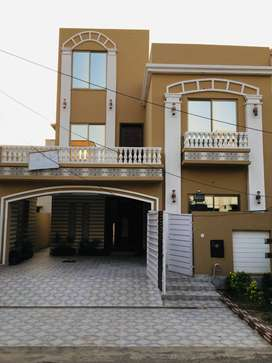 8 Marla Brand New Double Unit House 4 Sale Bahria Town Umer Block LHR