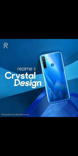 Realme 5 Crystal Blue Crystal Purple