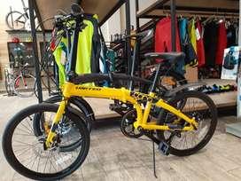Sepeda lipat united cora 9speed bisa kredit tanpa cc 3menit