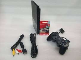PS2 32 GB WITH 20 GAME AND ALL ACCESSORIES 1 MONTH WARRANTY