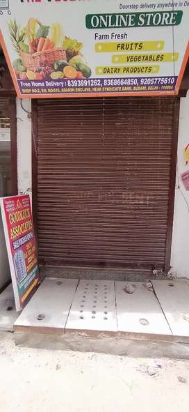 Shop for rent available in sant nagar