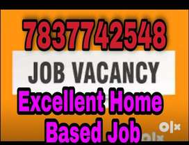 Hiring For home based Back Office Executive, Only Female
